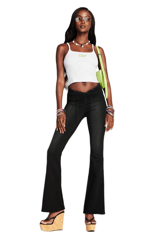 I Am Gia NEAVAH DENIM PANT - BLACK