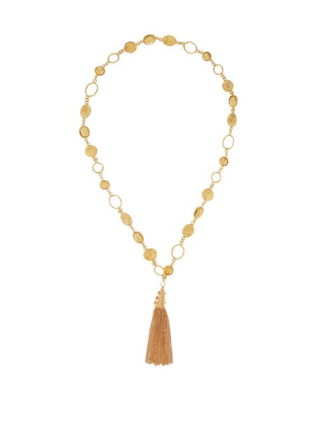 Sylvia Toledano - Lee Tasselled Necklace - Womens - Gold