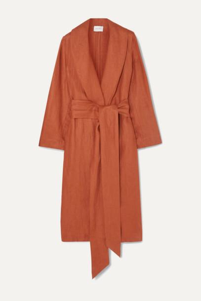 BONDI BORN - Universal Linen-twill Coat - Camel