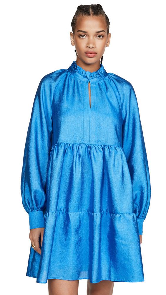 Stine Goya Jasmine Dress in blue