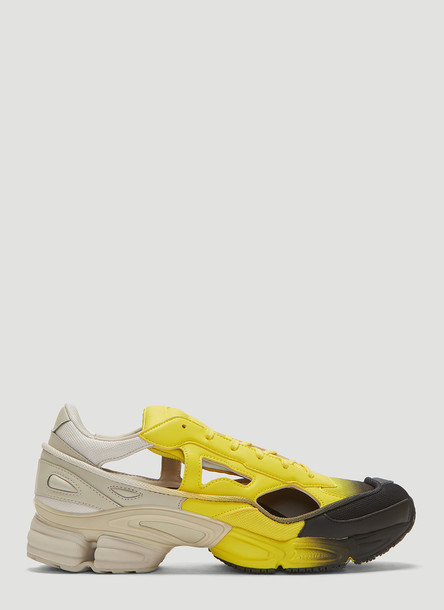 Adidas By Raf Simons Replicant Ozweego Sneakers in Yellow size UK - 10