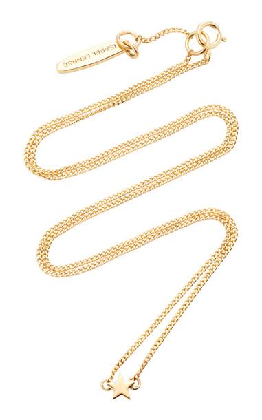 Isabel Lennse Mini Star 14K Gold Necklace