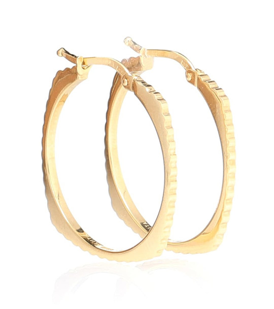 Aliita Aro Rueda BG 9kt gold hoop earrings