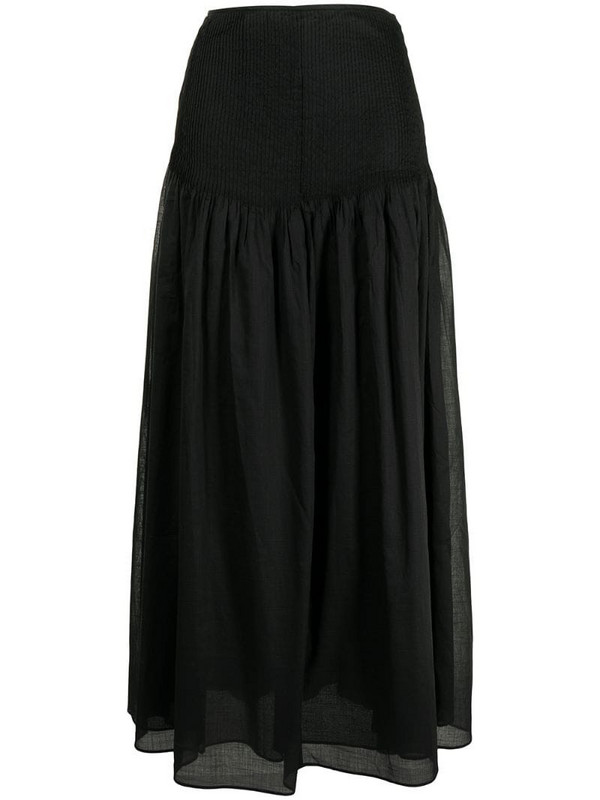 Sir. Alina maxi skirt in black