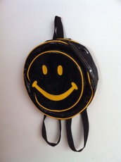 smiley face backpack,bag