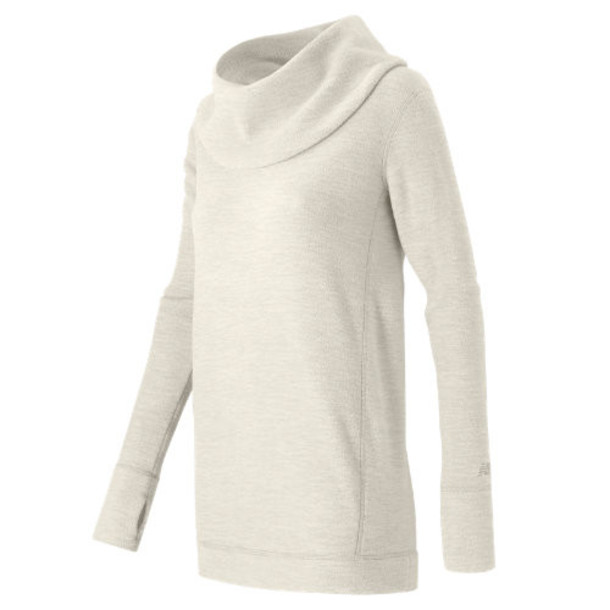 New Balance 53456 Women's Cozy Tunic Pullover - Ivory (WT53456SST)