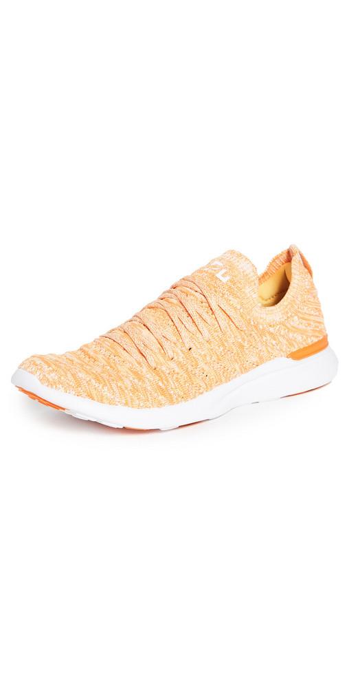 APL: Athletic Propulsion Labs Techloom Wave Sneakers in orange