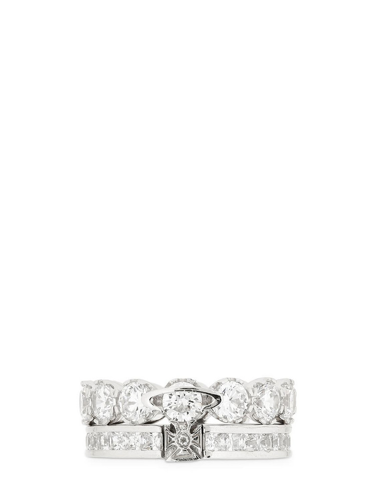 VIVIENNE WESTWOOD Becky Ring in white
