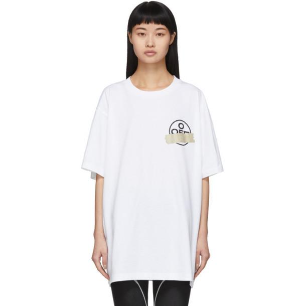 Off-White White Tape Arrows T-Shirt