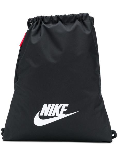 Nike drawstring backpack in black