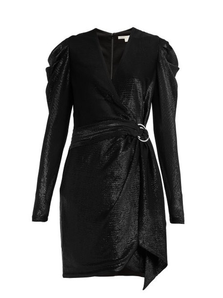Jonathan Simkhai - Draped Wrap Mini Dress - Womens - Black