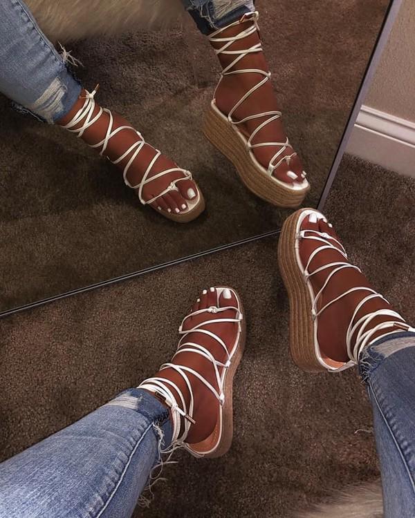 shoes straps platform shoes strappy sandals platform sandals