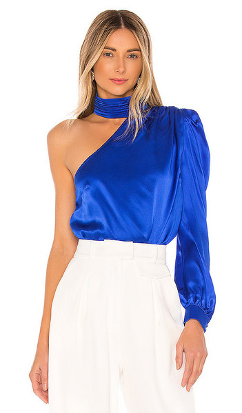 Generation Love Rosario Blouse in Royal in blue