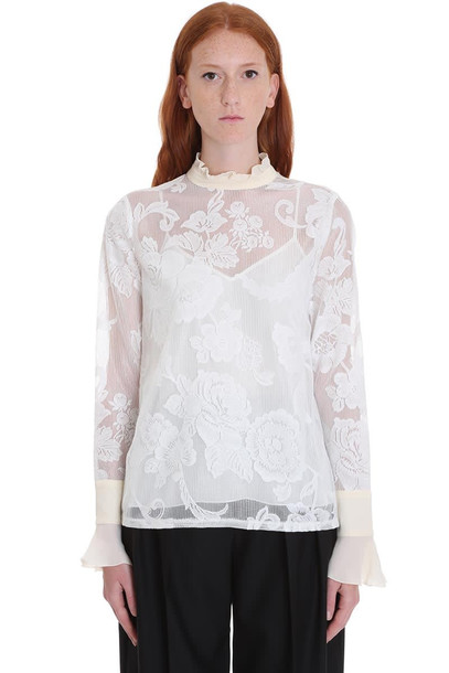 See by Chloé See by Chloé Blouse In White Cotton