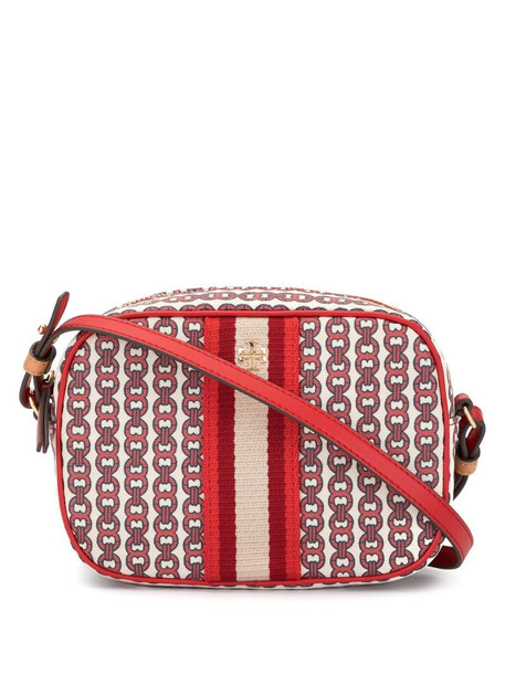 Tory Burch Gemini link mini bag in red