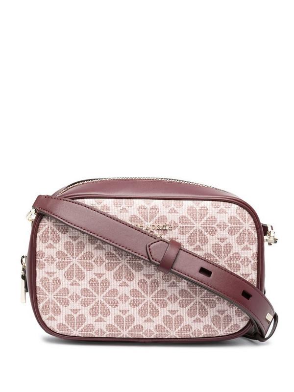Kate Spade medium Spade Flower Infinite crossbody bag in pink