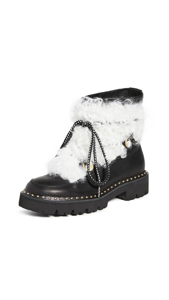 Montelliana Jolie Boots in black / cream