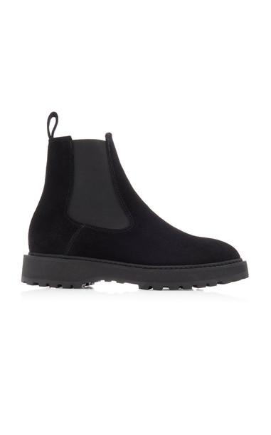 Diemme Alberone Suede Chelsea Boots Size: 35 in black