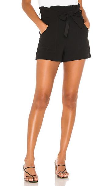 Amanda Uprichard Wyatt Shorts in Black