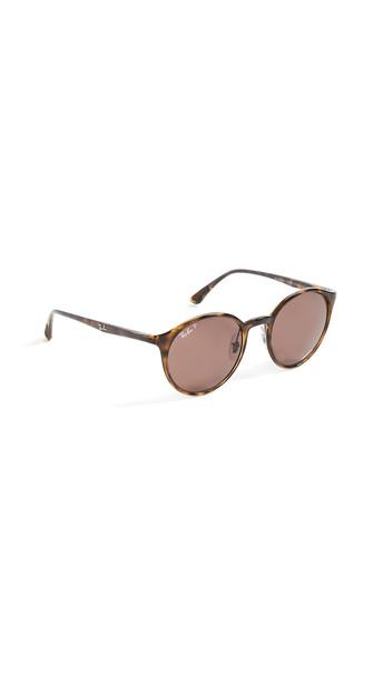 Ray-Ban Tech Round Chromance Sunglasses in purple