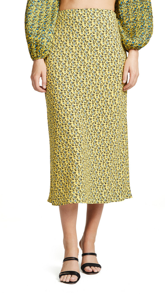 C/Meo Collective Sanguine Skirt in yellow