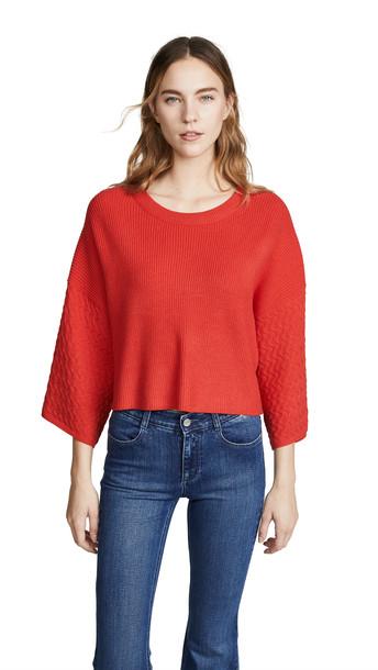 BB Dakota Jack By BB Dakota In the Mix Sweater in red