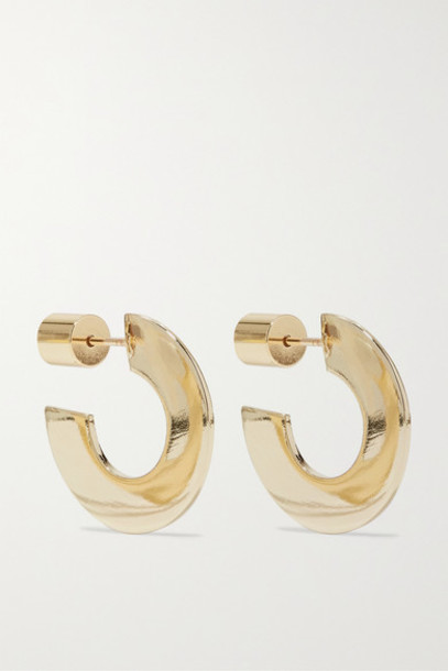 Jennifer Fisher - Drew Gold-plated Hoop Earrings