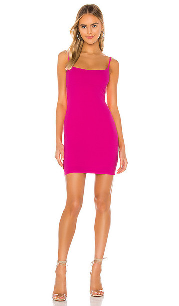 Nookie Bailey Mini Dress in Fuchsia