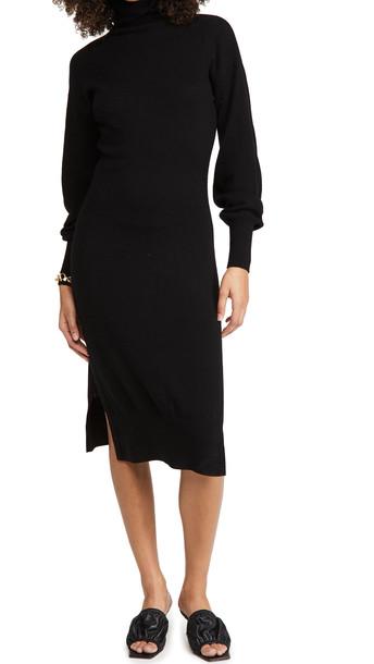 Ramy Brook Maggie Sweater Dress in black
