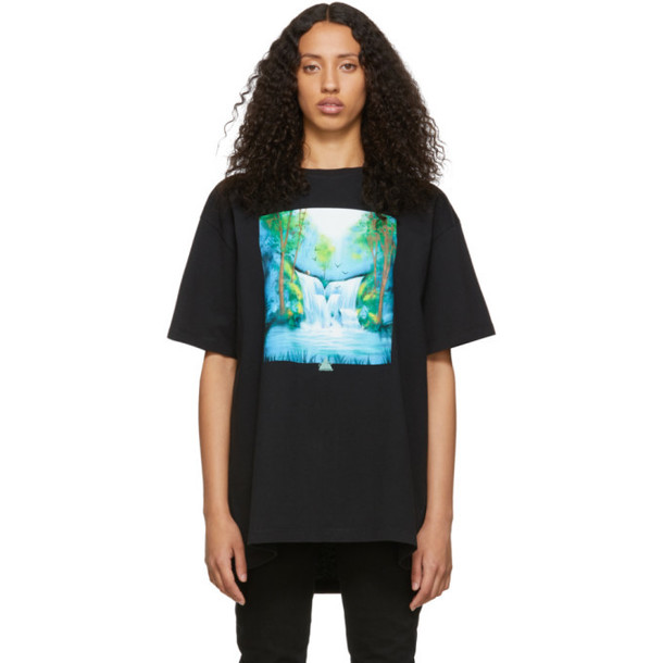 Off-White Black Waterfall T-Shirt