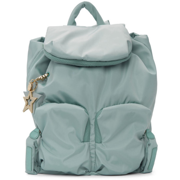 See by Chloé See by Chloé Blue Joy Rider Backpack
