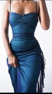 dress,teal,prom dress,mermaid prom dress,tulle dress,emerald green