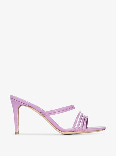Kalda Purple Simon 85 Strappy Leather Sandals