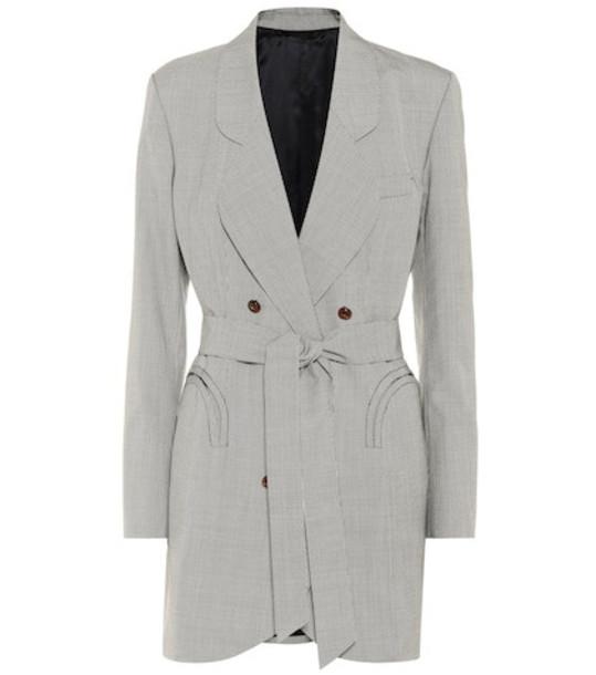 Blazé Milano Tonino Sunshine wool blazer in grey