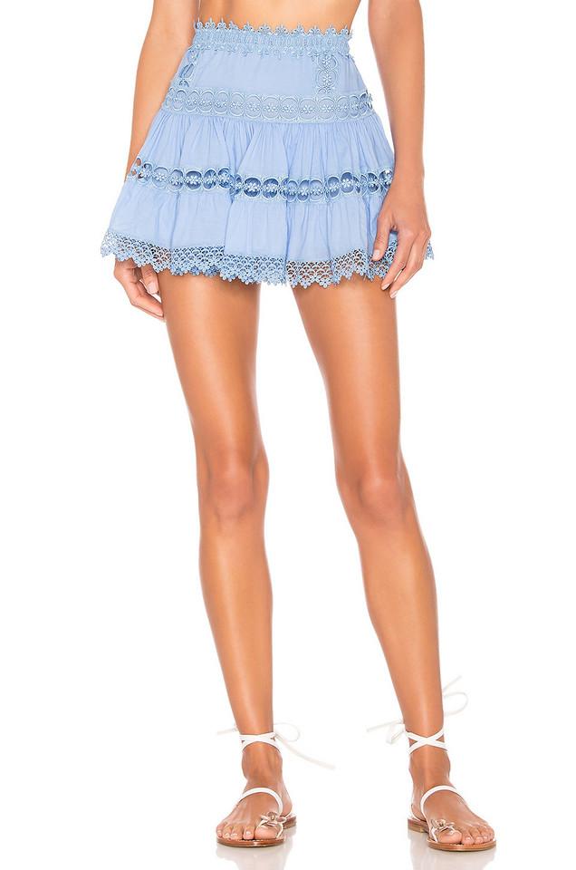 Charo Ruiz Ibiza Greta Skirt in blue