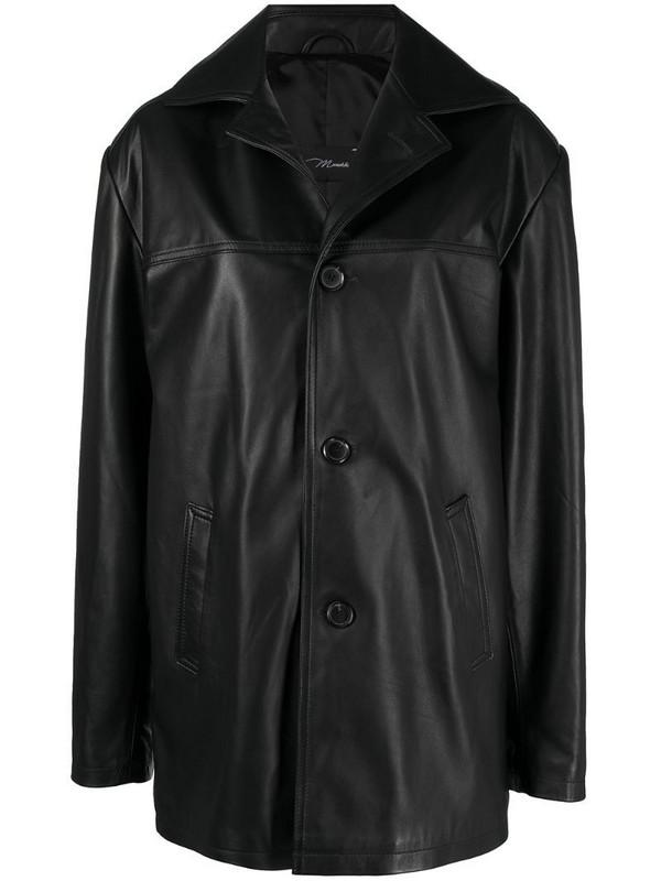 Manokhi oversized single-breasted jacket in black