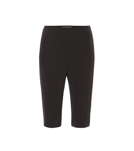 Maison Margiela Stretch-twill shorts in black
