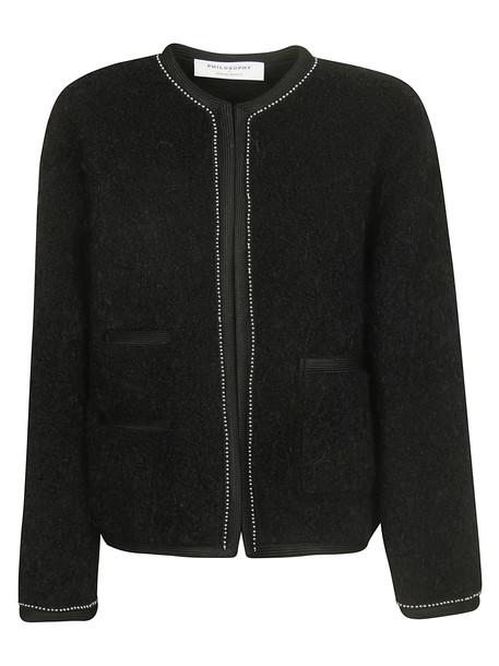 Philosophy di Lorenzo Serafini Embellished Jacket in nero