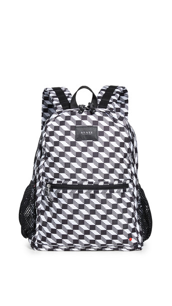 STATE Bedford Backpack in black / white