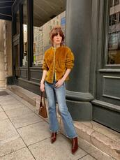 sea of shoes,blogger,jeans,sweater,bag,shoes