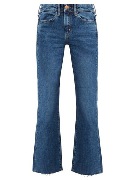 M.i.h Jeans - Lou High Rise Flared Jeans - Womens - Denim