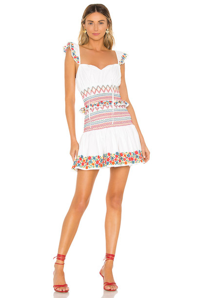 Tularosa Janine Dress in white