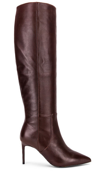 Alias Mae Cooper Tall Boot in Brown,Burgundy in chocolate