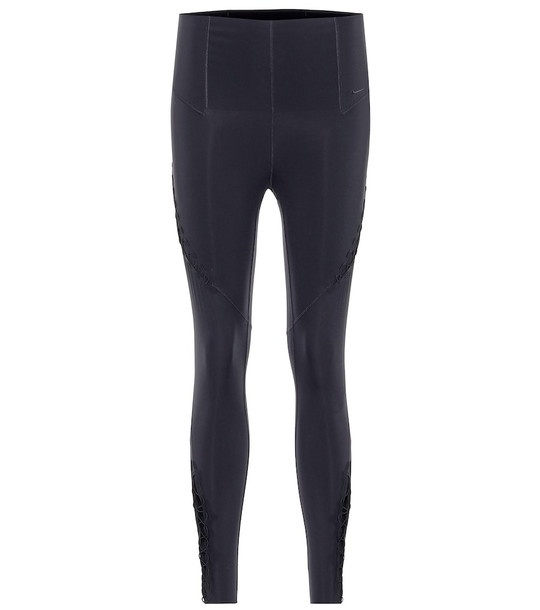 Nike High-rise performance leggings in black