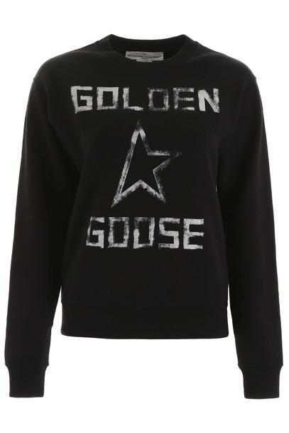 Golden Goose Logo Sweatshirt in black