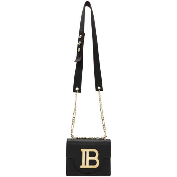 Balmain Black B Bag 18 Bag