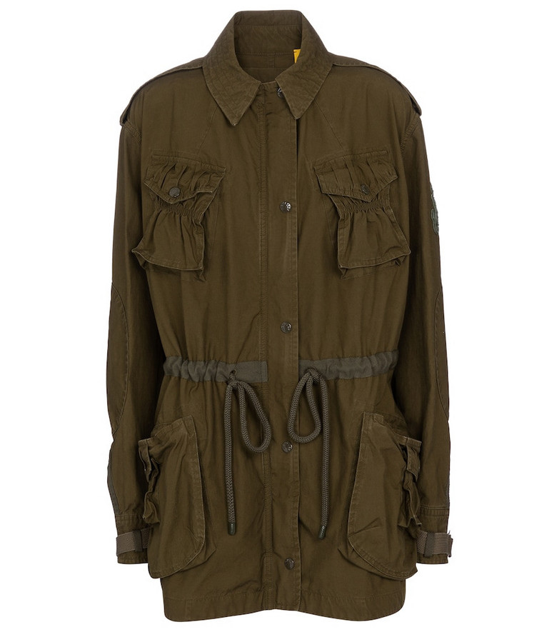 Moncler Genius x JW Anderson Kynance cotton jacket in green