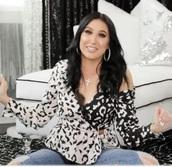 blouse,jaclyn hill,leopard print,black,white,lace,wrap top