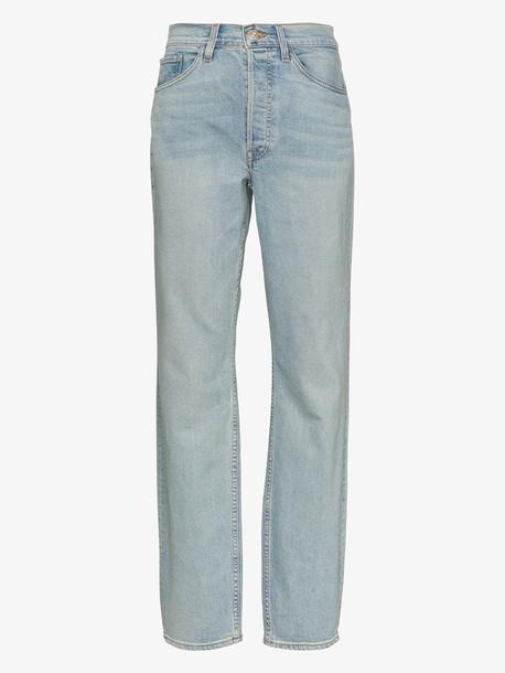 3x1 X Mimi Cuttrell Kirk mid-rise boyfriend jeans in blue