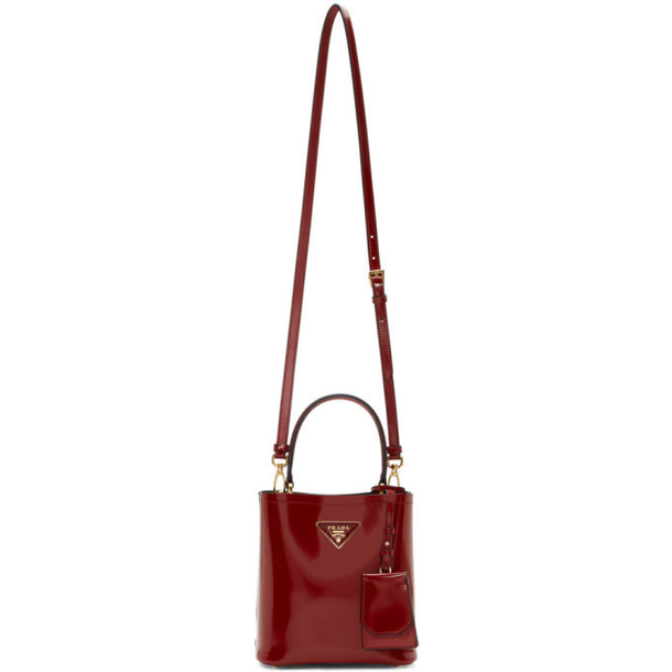 Prada Red Small Double Bag